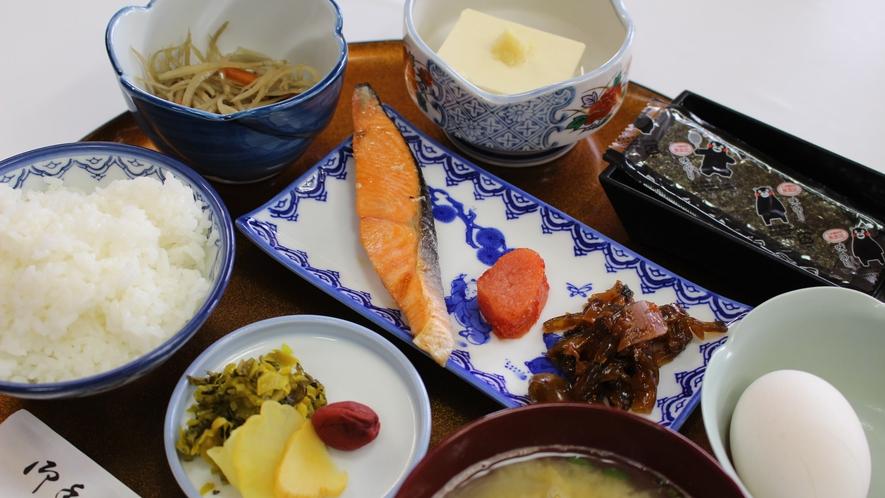 *【朝食一例】素材の旨味と優しい味付けが美味しい和朝食。