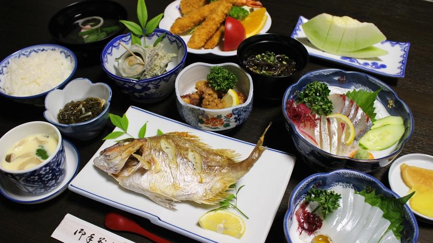 *【グレードUP会席一例】素材は基本天然物!素材の旨味を活かした料理の数々。