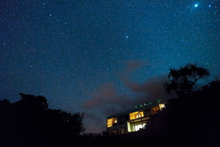 満天の星空 ~ 星空保護区に泊まる幸せを ♪ ~