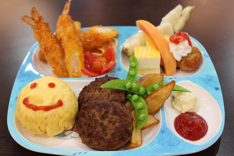 キッズプレート 幼児のお子様の夕食一例 ~ 栄養満点の夕食でお子様も大満足 ~