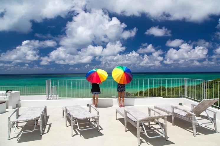 Seven Colors の7色の傘 ~ 写真映えしてルンルン気分 ♪ 雨の日もウキウキです ♪ ~
