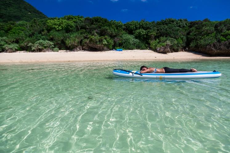 アクティビティ SUP ~ ただただ、のんびりできる海。楽園ってホントにあったんだ~♪ ~