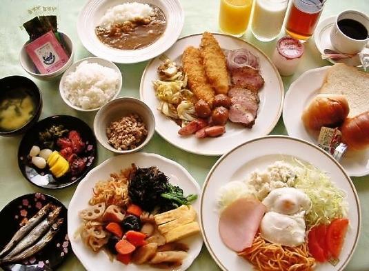 ご朝食バイキング付きオータム・プラン