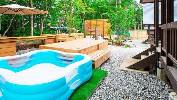子供用プール付きコテージ(7・12の棟)