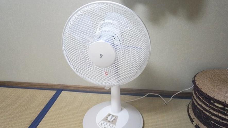 *夏には扇風機も♪