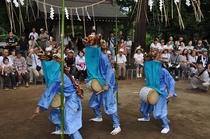 別所の獅子舞 ※印西市役所提供