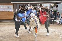 いなざき獅子舞 ※印西市役所提供