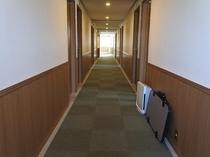 西館廊下 3F~6F