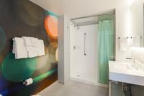車椅子対応 バスルーム例