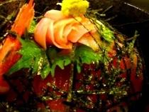 夕食【和定食(海鮮丼定食)】
