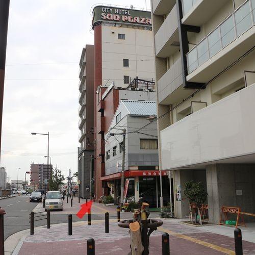 堺駅東口〜ホテル6