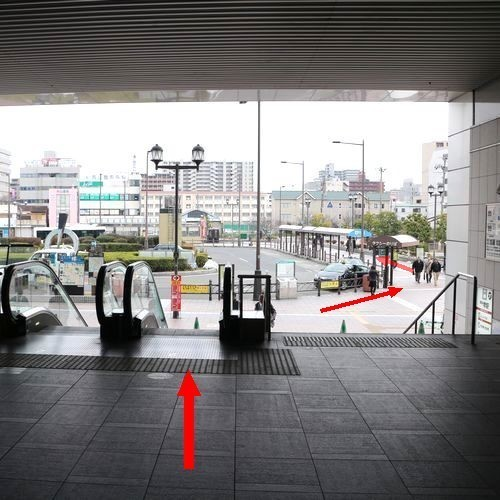 堺駅東口〜ホテル1