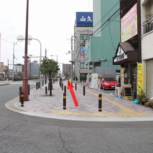 堺駅東口〜ホテル5