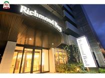 ~リッチモンドホテル東大阪 正面玄関~