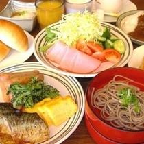 ご朝食バイキング(盛り付け例)