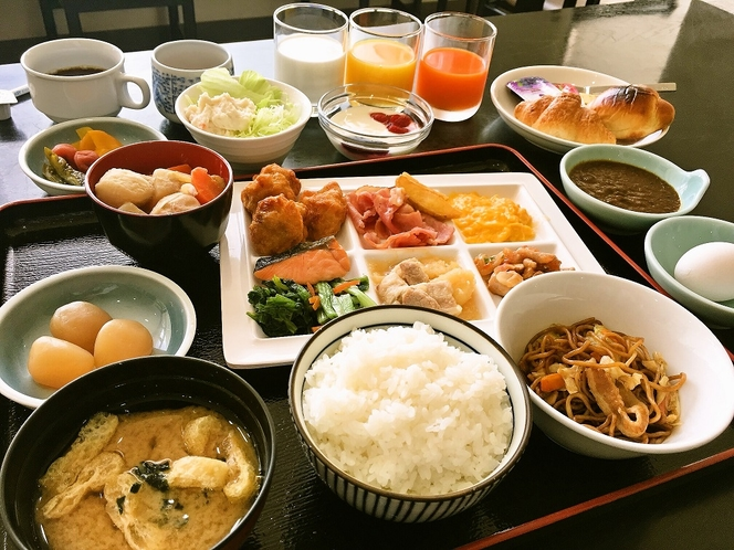 ご朝食バイキング(イメージ)