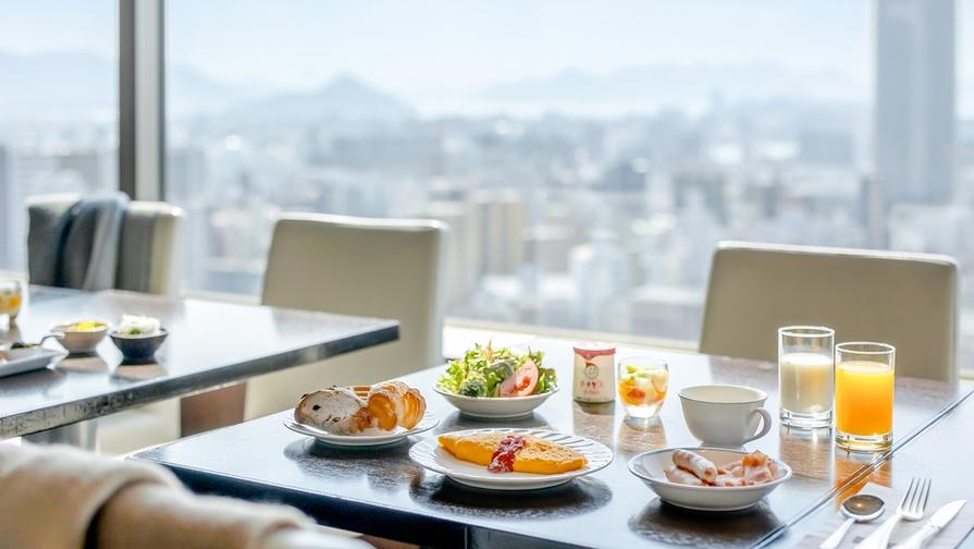 【お日にち限定】25階レストランの朝食付プラン(朝食付)