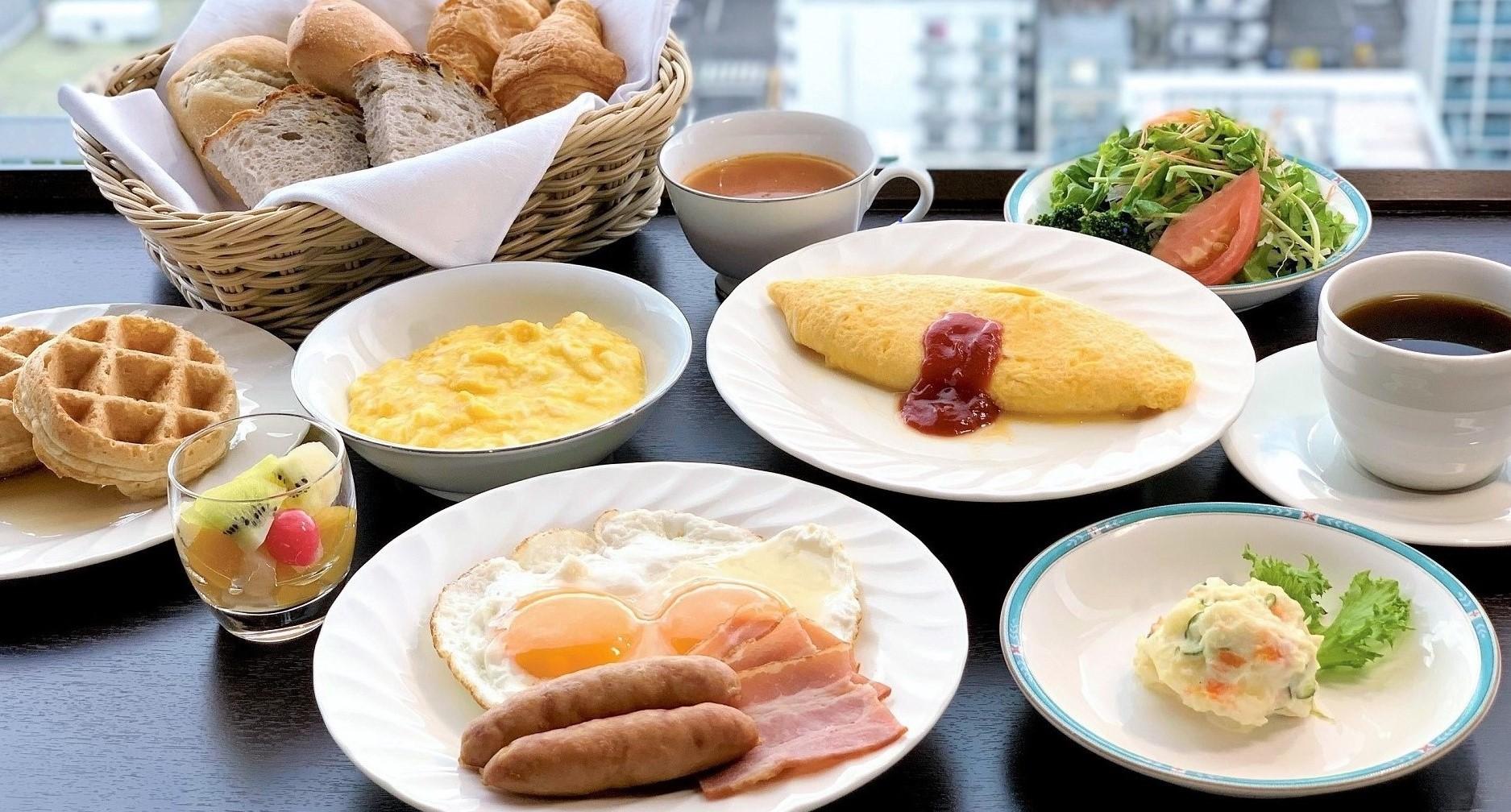 【朝食セットメニュー イメージ(洋食)】