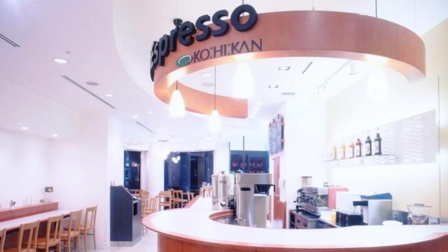 【Cafe di Espresso(1F)】
