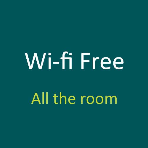 【WI-FI Free●No Password】 全客室でWI-FIがご利用可能!!