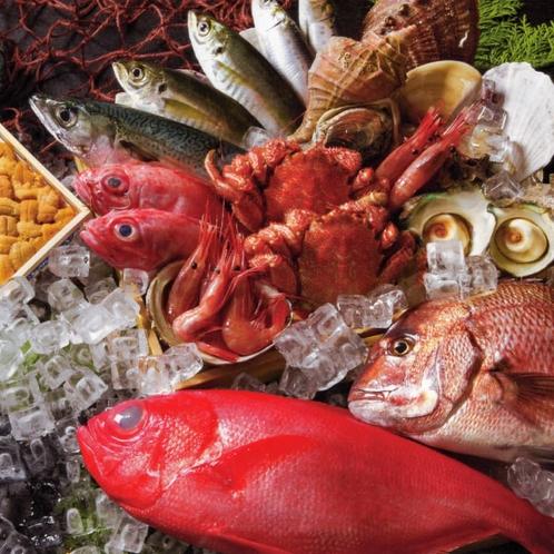 〈花万の4つのこだわり〉①福岡鮮魚市場直送の魚介