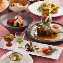 〈新感覚・日本料理 華〉旬の魚介がメイン♪九州産の食材を美味しく楽しめます。