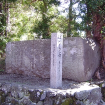 *【ほなき石】江戸城を築くために切り出された築城石