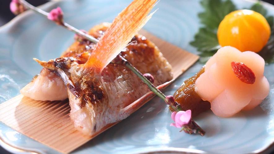 *【のど黒の塩焼】料理一例