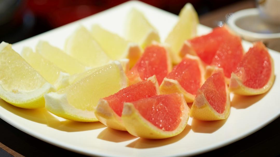 【朝食】 フルーツ