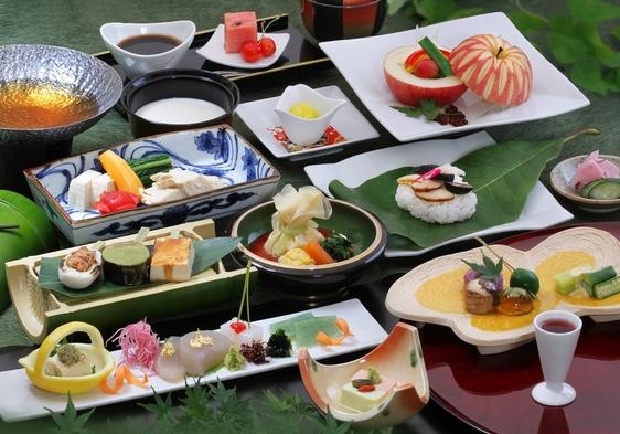 精進会席プラン(お肉やお魚、卵、乳製品などの食材を使用しない会席)
