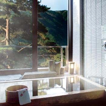 景山荘ひのき風呂