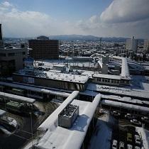 【室数限定】客室からのJR青森駅