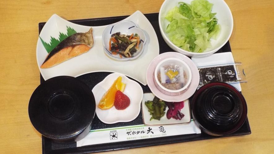 ごはんが美味しい和朝食