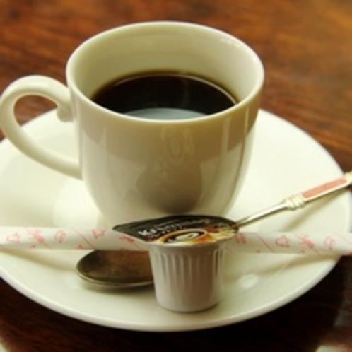 朝食イメージ:自家焙煎珈琲