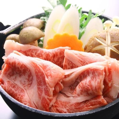 ☆料理_夕食_単品_すき焼き (1)