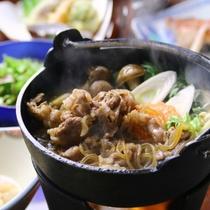 ☆料理_夕食_単品_すき焼き (4)