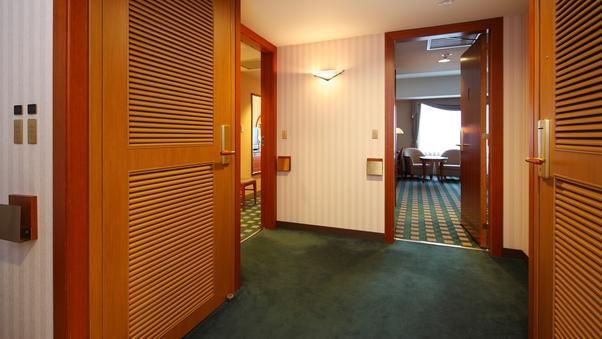 スタンダード・コネクトルーム 34+34平米(10-19階)