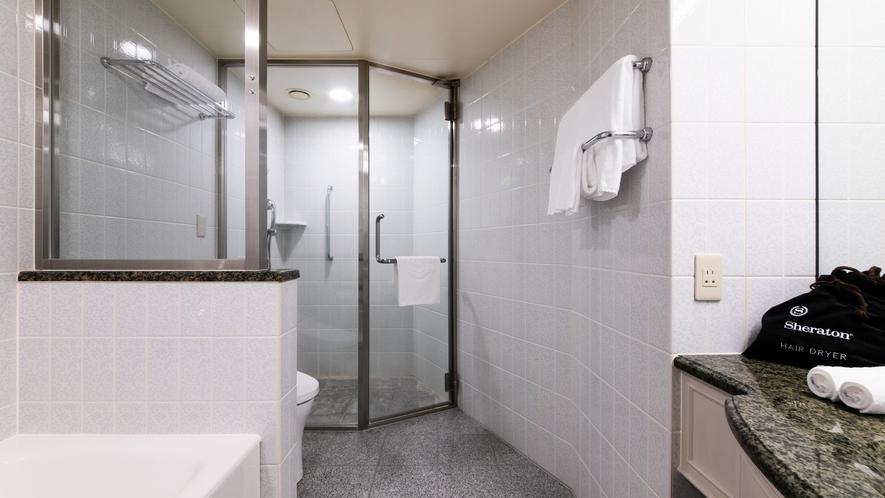 レギュラーフロアーデラックスキングシャワーブースバスルーム