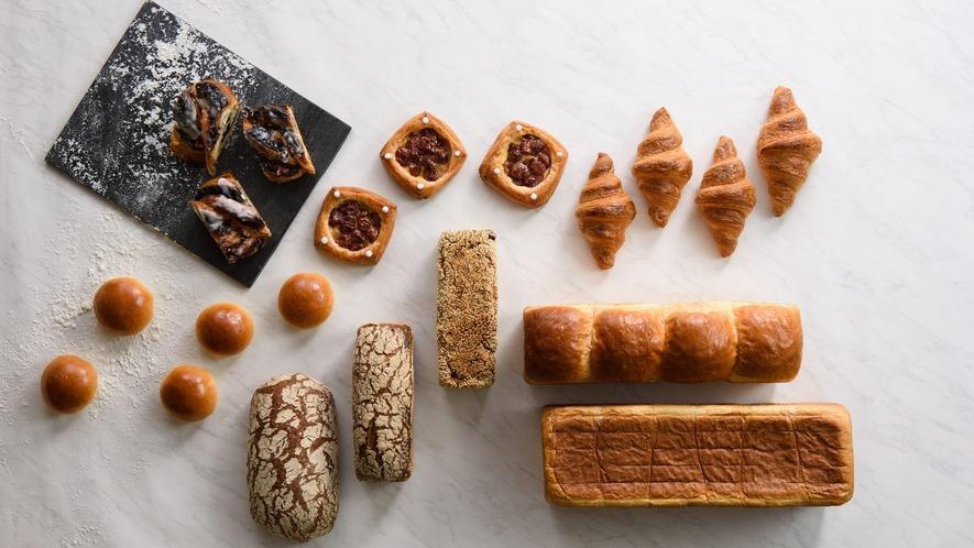 ペストリーショップ「ドーレ」のパン