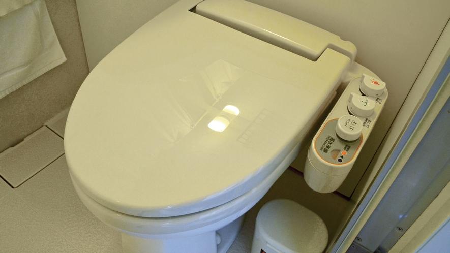 【全客室】温水洗浄トイレ