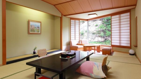【紫雲閣】渓谷と片倉山を望む和室2020年4月より禁煙