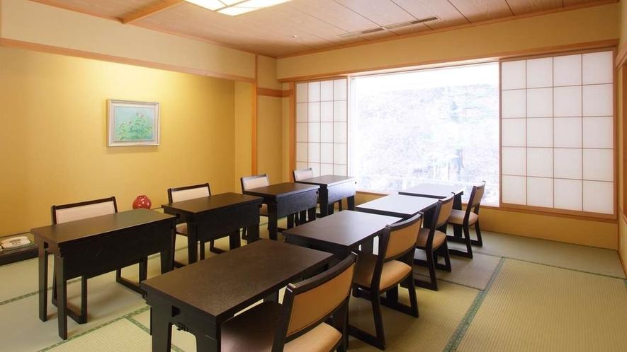 個室会食場一例