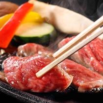 和牛鉄板焼 定番別注料理