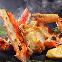 焼たらば蟹 冬の別注料理