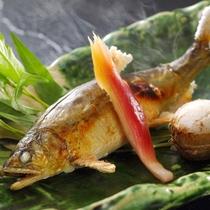 鮎の塩焼き 夏の別注料理