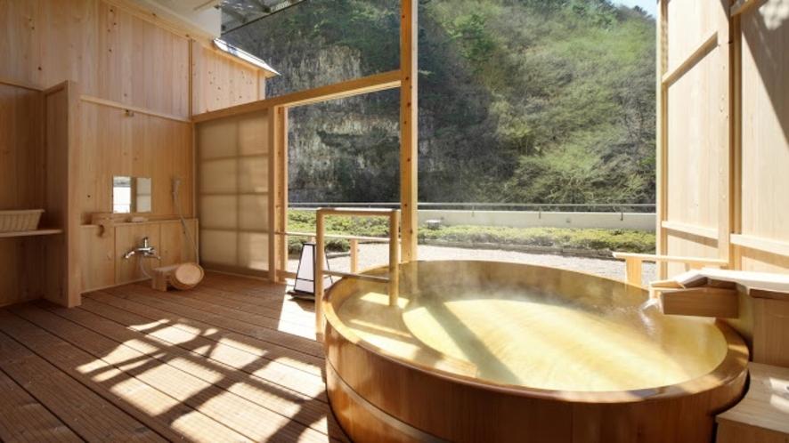 紅雲閣露天風呂付客室一例