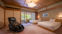 ◆ロイヤルフロア<露天風呂付(和室・ツインベッドルーム)>
