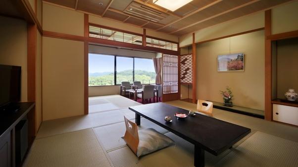 【禁煙】緑水亭ならではの眺め!ゆったり和室