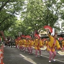 【観光スポット】すずめ踊り 写真提供:宮城県観光課