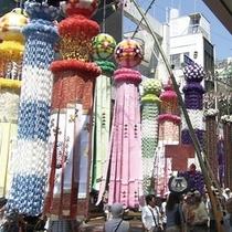 【観光スポット】仙台七夕まつり 写真提供:宮城県観光課
